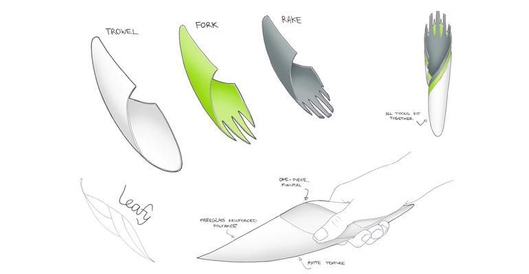 awesome-design-ideas-Leafy-Garden-Tool-Ben-Nicholson-2