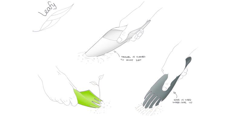 awesome-design-ideas-Leafy-Garden-Tool-Ben-Nicholson-3