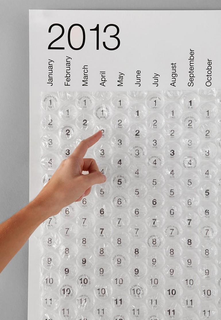 awesome-design-ideas-bubble-calendar-2013-1