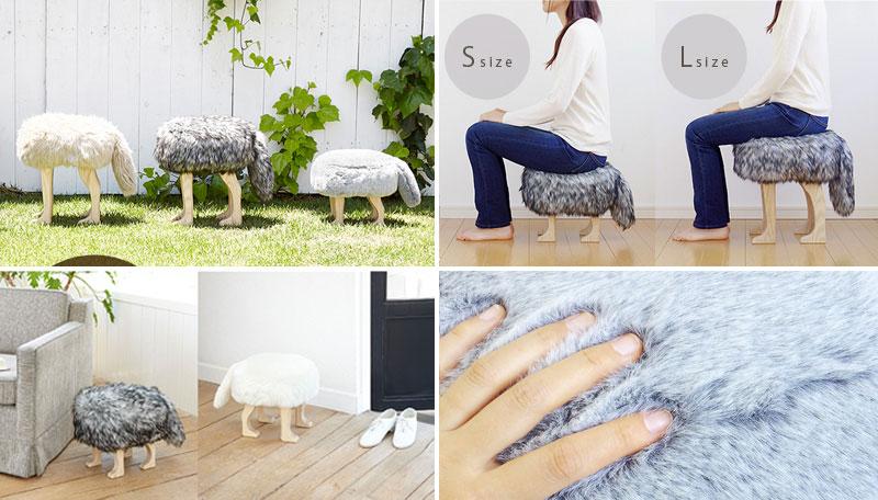 awesome-design-ideas-Animal-Stool-Rakuten-japan-4