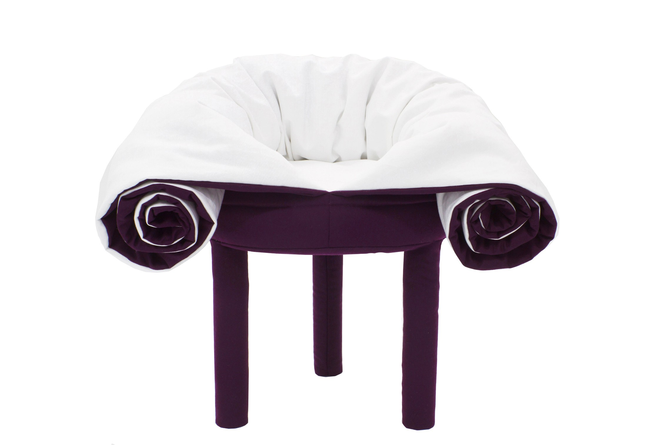 awesome-design-ideas-Collerette-Chair-Footstool-Blanket-in-One-2