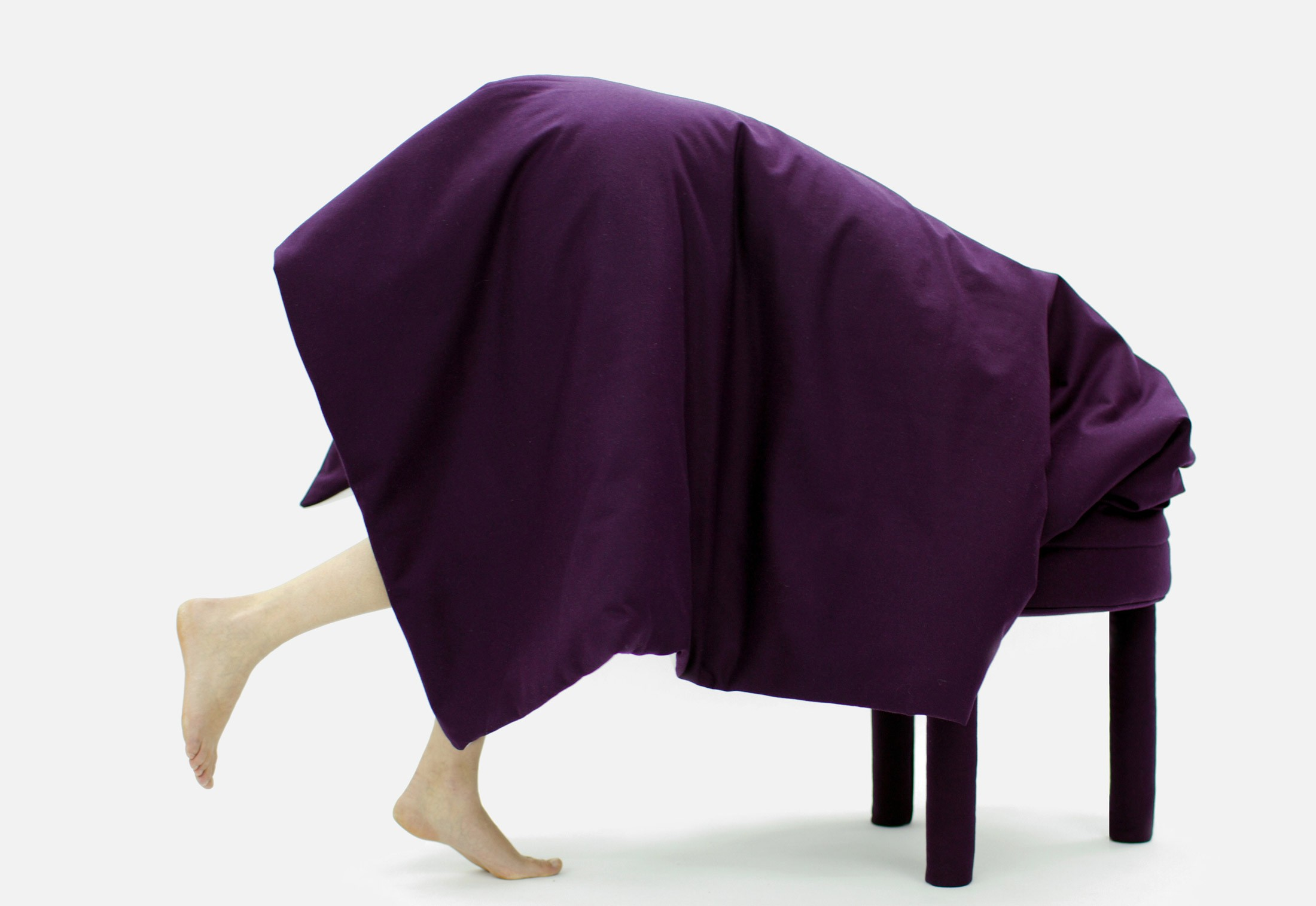 awesome-design-ideas-Collerette-Chair-Footstool-Blanket-in-One-3
