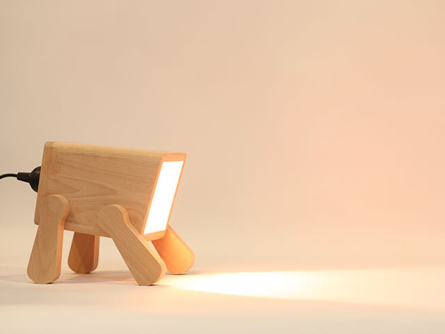 Awesome Design Ideas » Frank Desk Lamp by Pana Objects