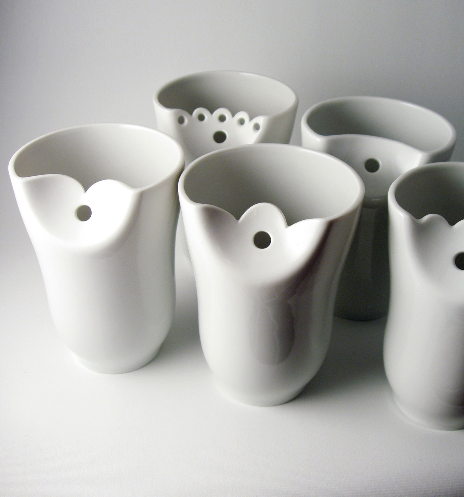 Awesome Design Ideas Handmade Porcelain Cups By Sarka