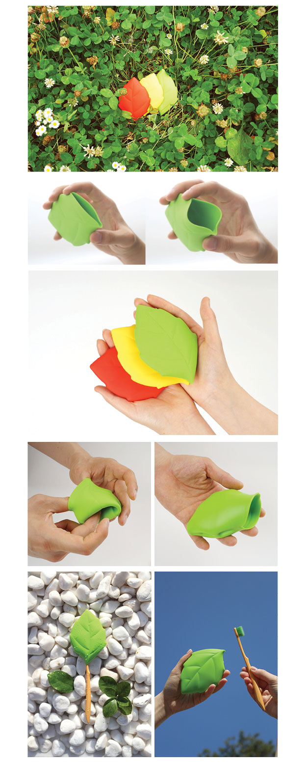 awesome-design-ideas-Leaf-Silicone-Cup-Connect-design-2
