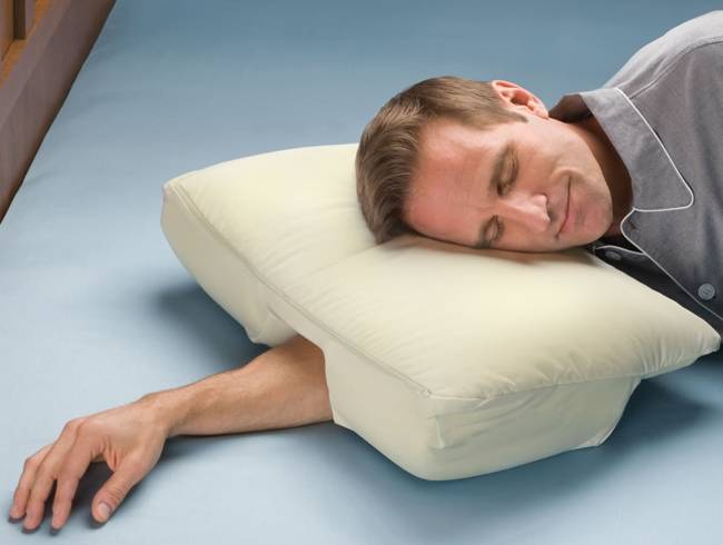 Awesome design ideas sleep better pillow by deluxe comfort for Comfort pillows for sleep