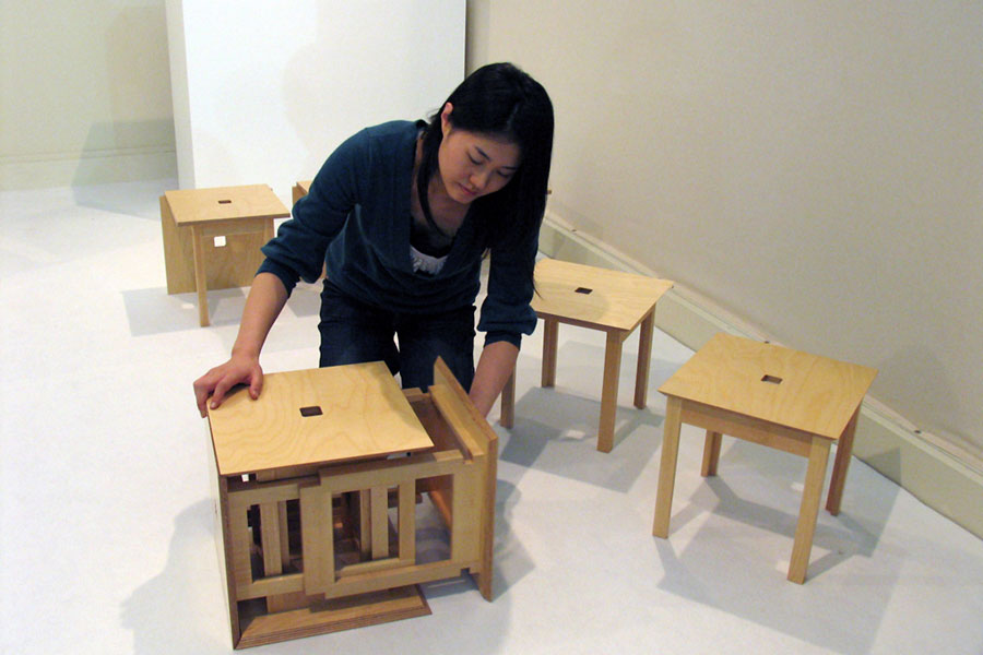 awesome-design-ideas-Space-saving-Cube6-dining-set-Naho-Matsuno-6