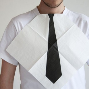 awesome-design-ideas-Dress-Dinner-Necktie-Napkins-1