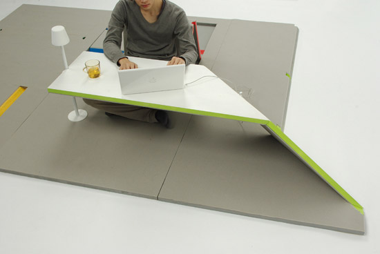 awesome-design-ideas-Land-Peel-foldable-floor-mat-Shin-Yamashita-1