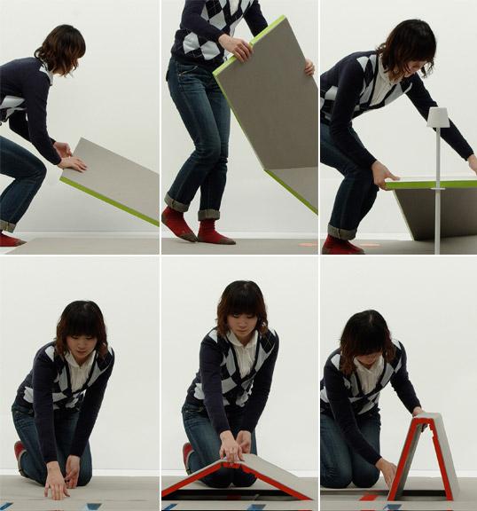 awesome-design-ideas-Land-Peel-foldable-floor-mat-Shin-Yamashita-5