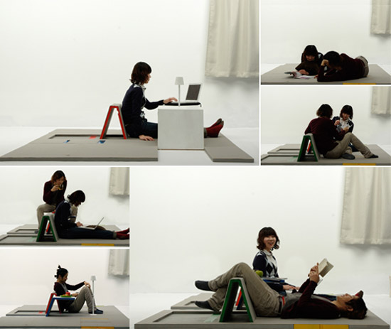 awesome-design-ideas-Land-Peel-foldable-floor-mat-Shin-Yamashita-6