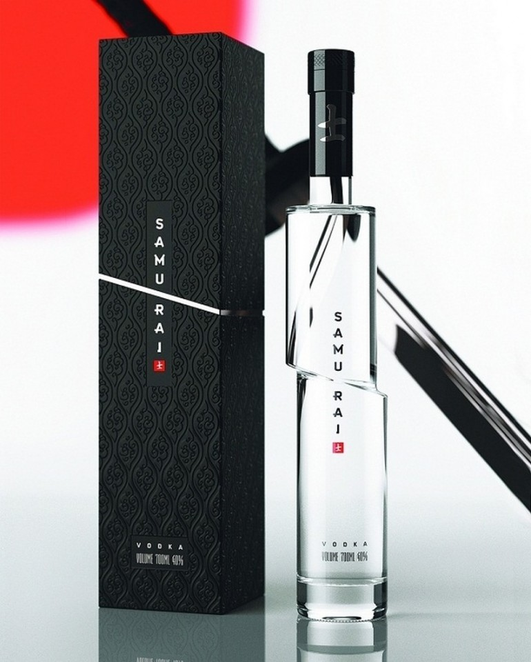 awesome-design-ideas-Samurai-Vodka-Packaging-Arthur-Schreiber