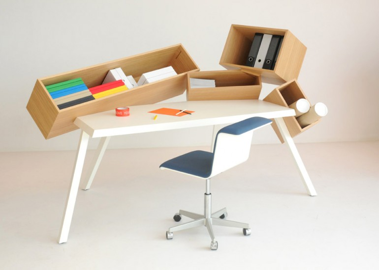 Awesome design ideas overdose desk by bram boo for Awesome desk ideas