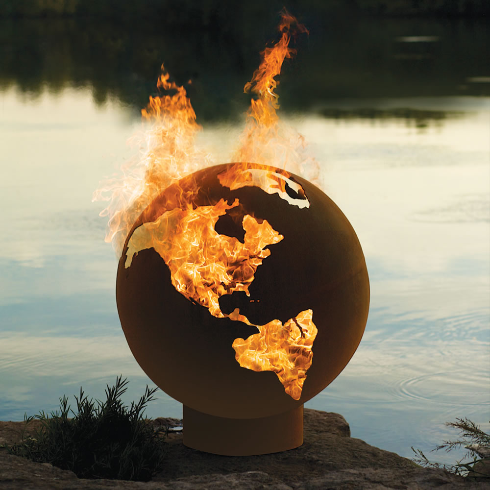 awesome-design-ideas-Third-Rock-Fire-Pit-Globe-Rick-Wittrig-4