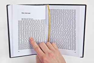 awesome-design-ideas-gogelmogel-Blah-blah-blah-Book-Lukas-Sidlauskas-1