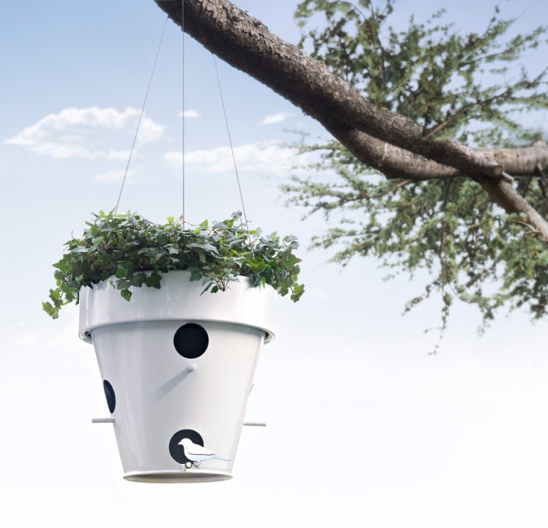 awesome-design-ideas-ONESTO-vase-and-bird-house-1