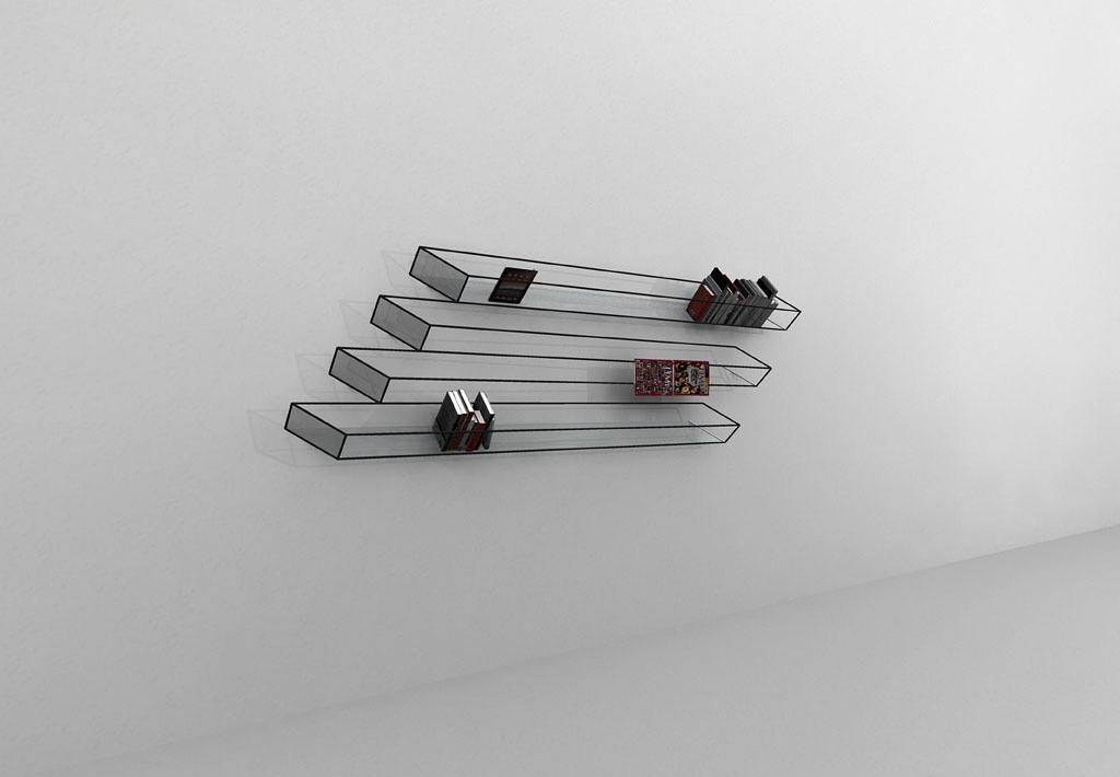awesome-design-ideas-Bias-of-Thoughts-Bookshelf-2D-John-Leung-2