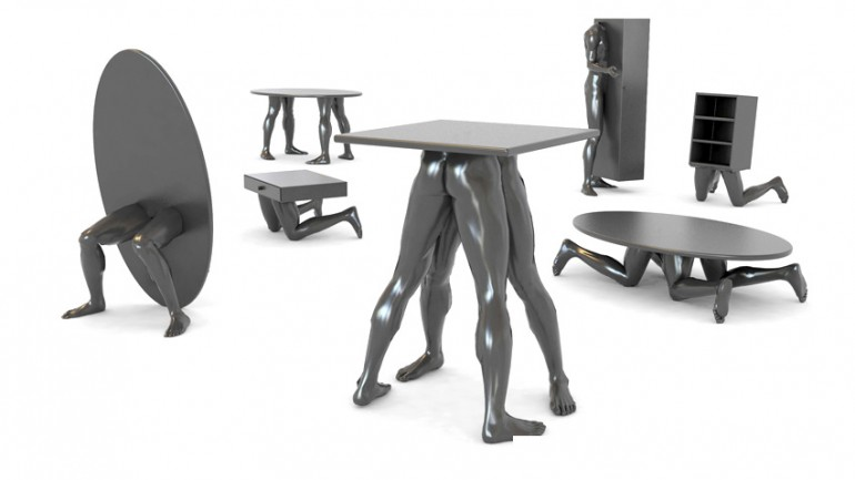 Awesome Design Ideas Human Furniture Collection By