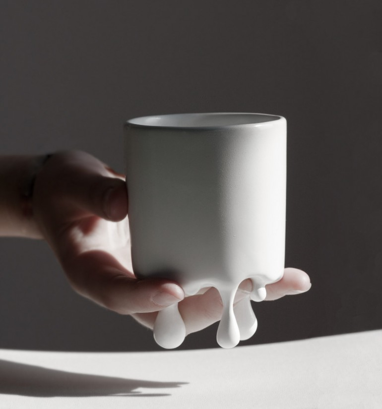 awesome design ideasmelt mug by lenka czereova