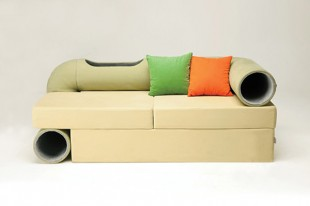 awesome-design-ideas-Cat-tunnel-sofa-Seungji-Mun-1