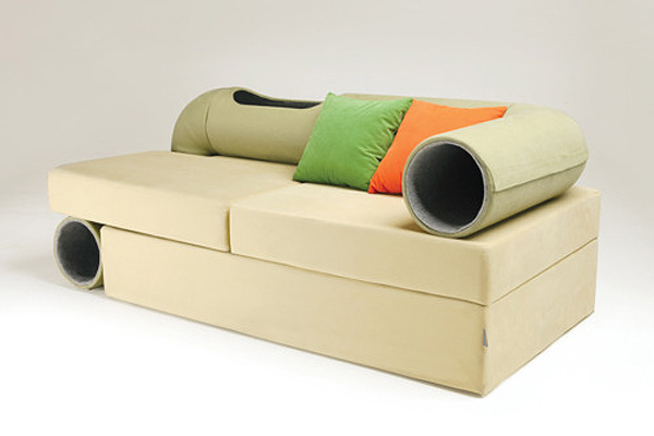 awesome-design-ideas-Cat-tunnel-sofa-Seungji-Mun-2