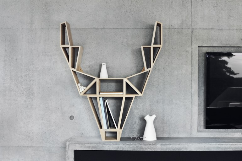 awesome-design-ideas-Deer-Shelf-BEdesign-1